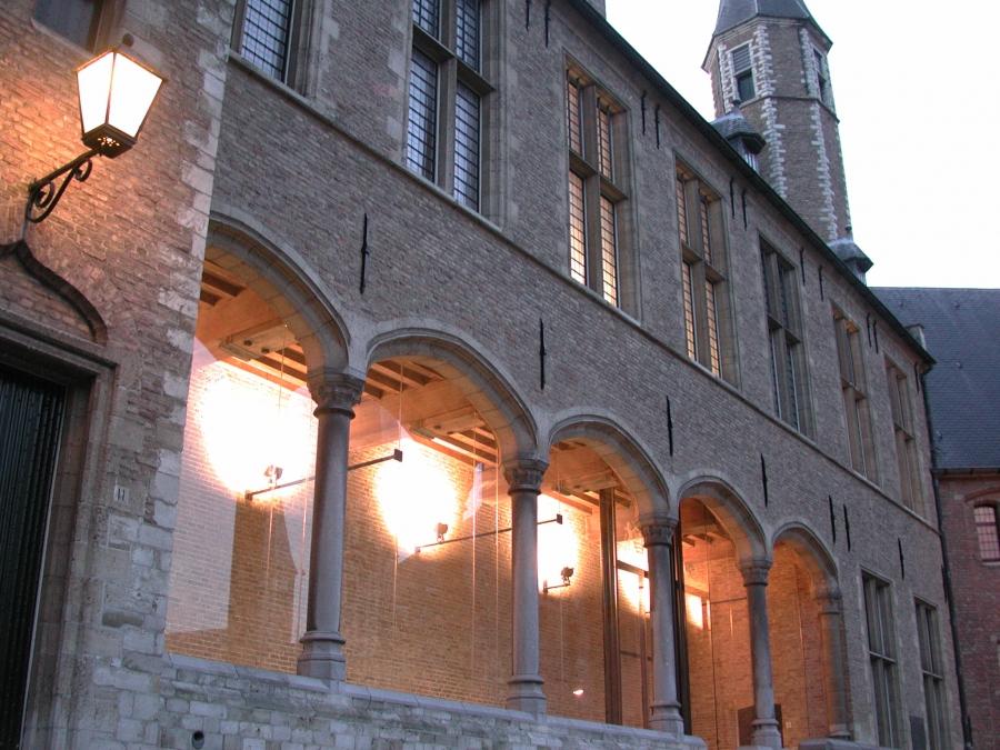 Beglazing abdijcomplex Middelburg