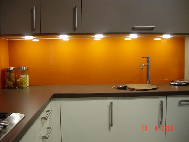Glad Keuken Achterwand : Keuken achterwanden prins glas b v exclusiviteit en