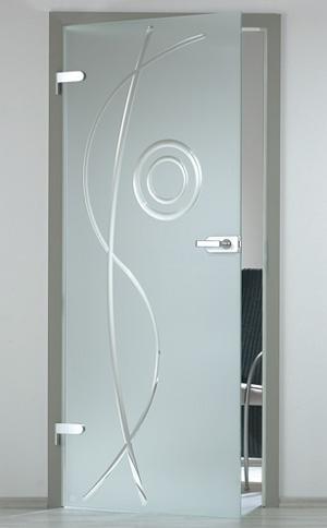 Glazen deuren met eigen ontwerp